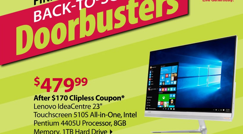 BJs back to school lenovo computer deal
