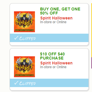 spirit halloween coupons - Spirit Halloween 50 Off Coupon