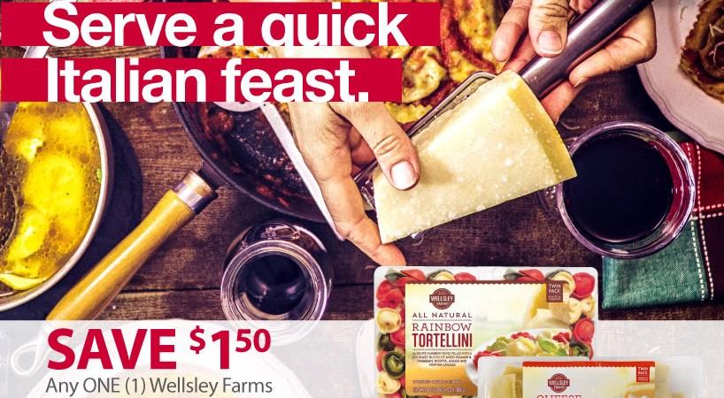 wellsley farms fresh pasta