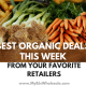 organic deals for the week at BJs and other grocery stores