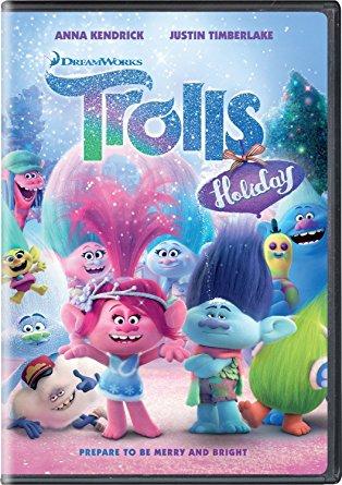 trolls holiday dvd edition