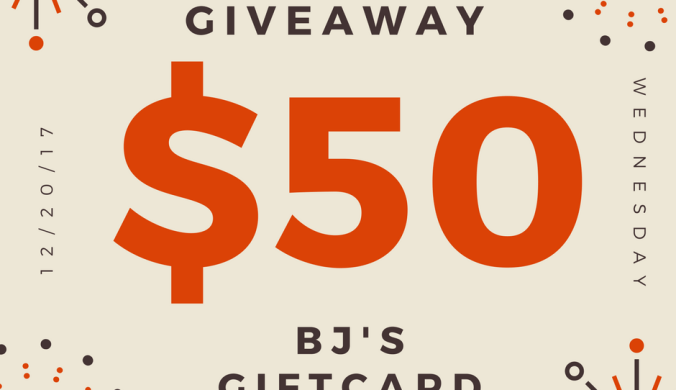 giveaway for $50 BJs gift card-membership free