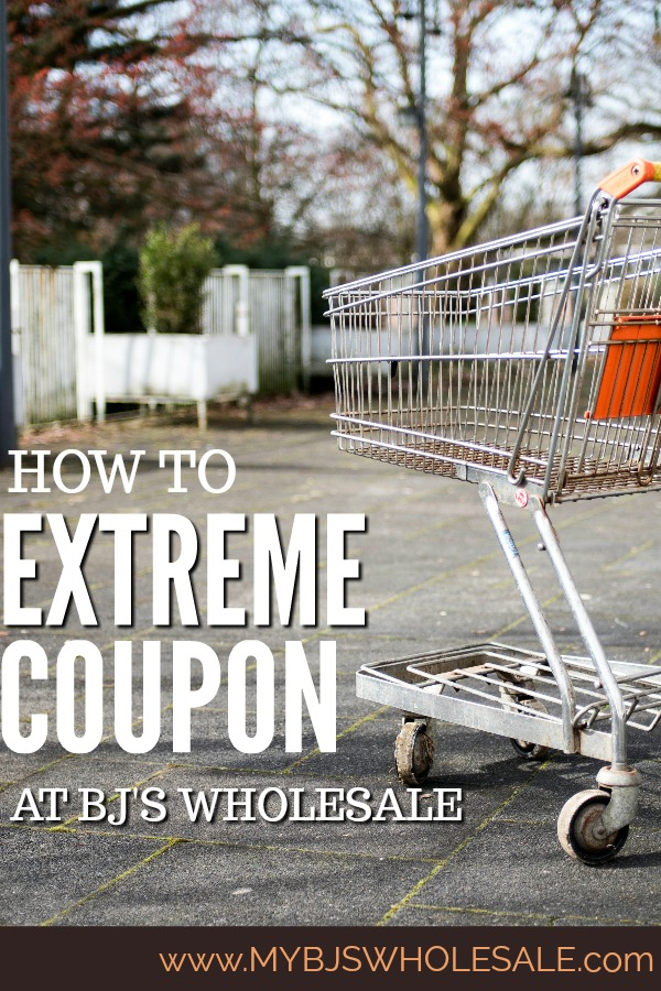 Learn how to extreme coupon at BJ's Wholesale club with these simple tips and tricks.  #BJssmartSaver #BJswholesale #warehouseclub #couponing #savemoney