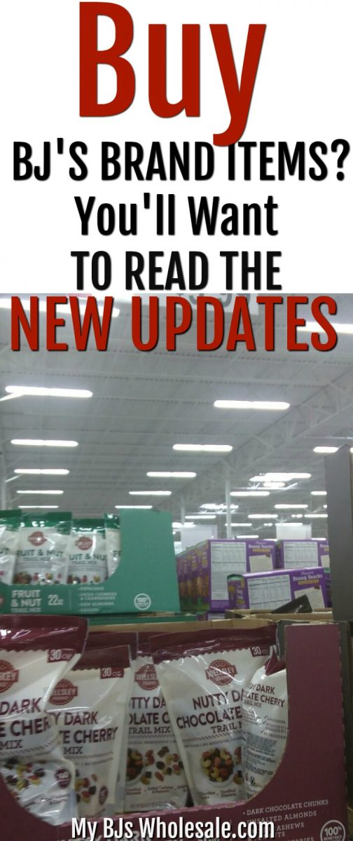 Purchasing BJ's Brand Wellsley Farms items saves you time, but now you'll want to check out the new updates they brought to the club. 