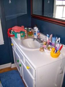 BEFORE Bath vanity