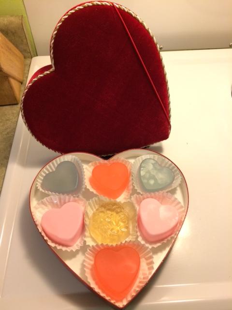Valentine's box complete