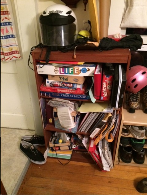 Recoup My Coop – Small Bookcase Reveal!