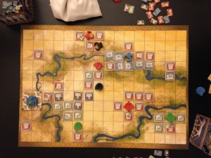 Tigris and Euphrates Game