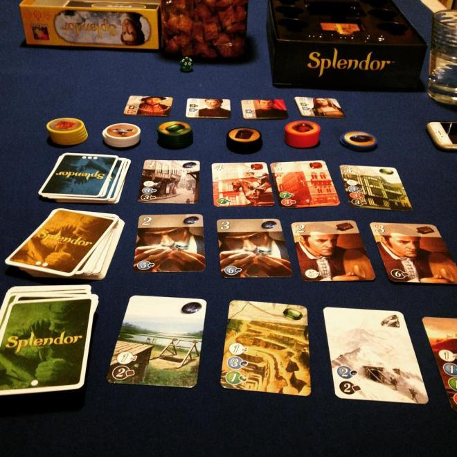 Splendor Board Setup