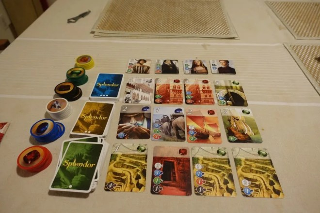Splendor Board Example