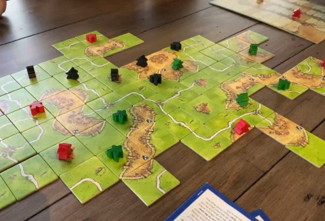 Carcassonne can catch coworkers' attention!