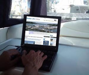 internet at marina