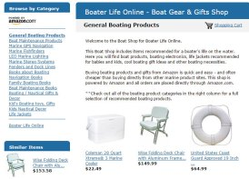 Amazon Boater Shop