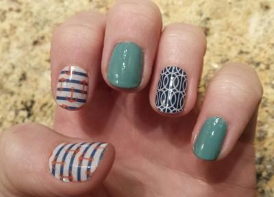 nail wrap designs with gel polish