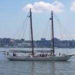 On Board the Schooner A.J. Meerwald