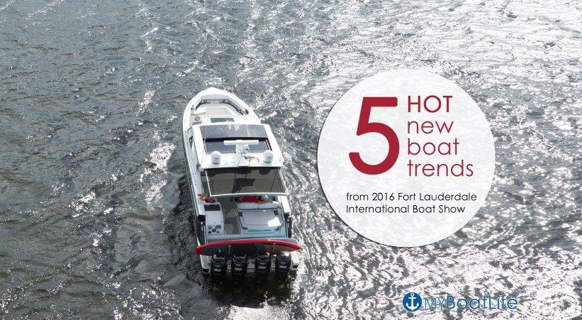 new boat design trends