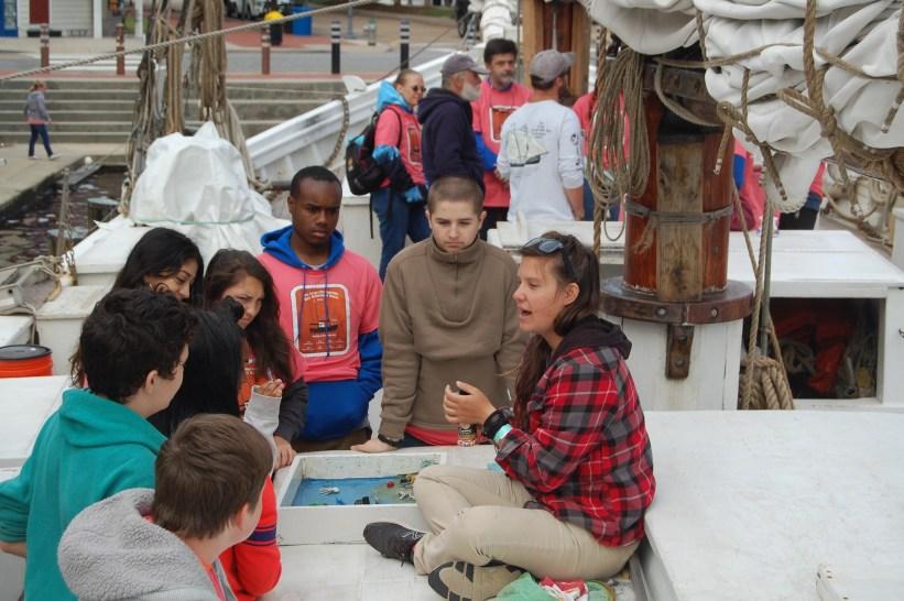 students schooner race
