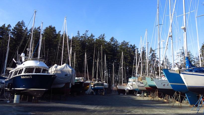 Carmody Cove boatyard