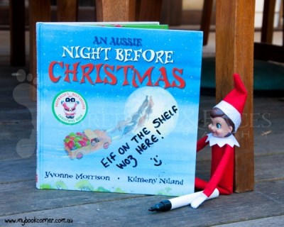 Elf on the Shelf Ideas - My Book Corner
