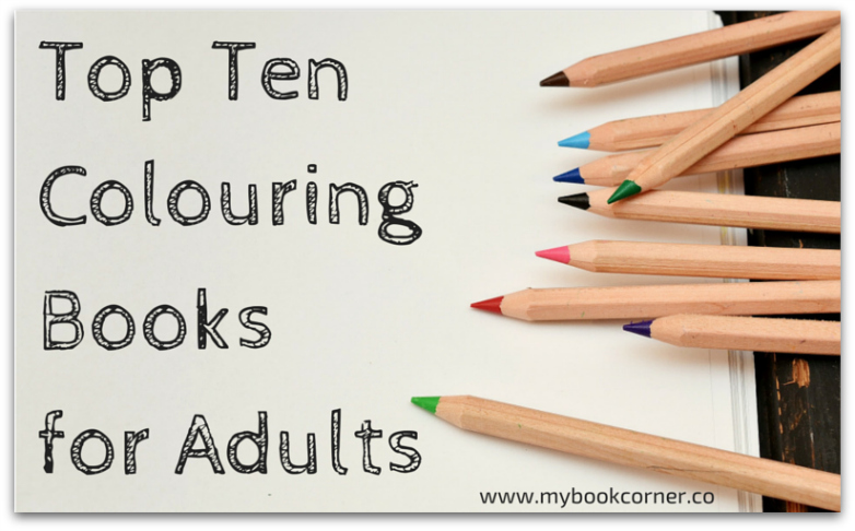 Best Colouring Books for Adults - Top Ten