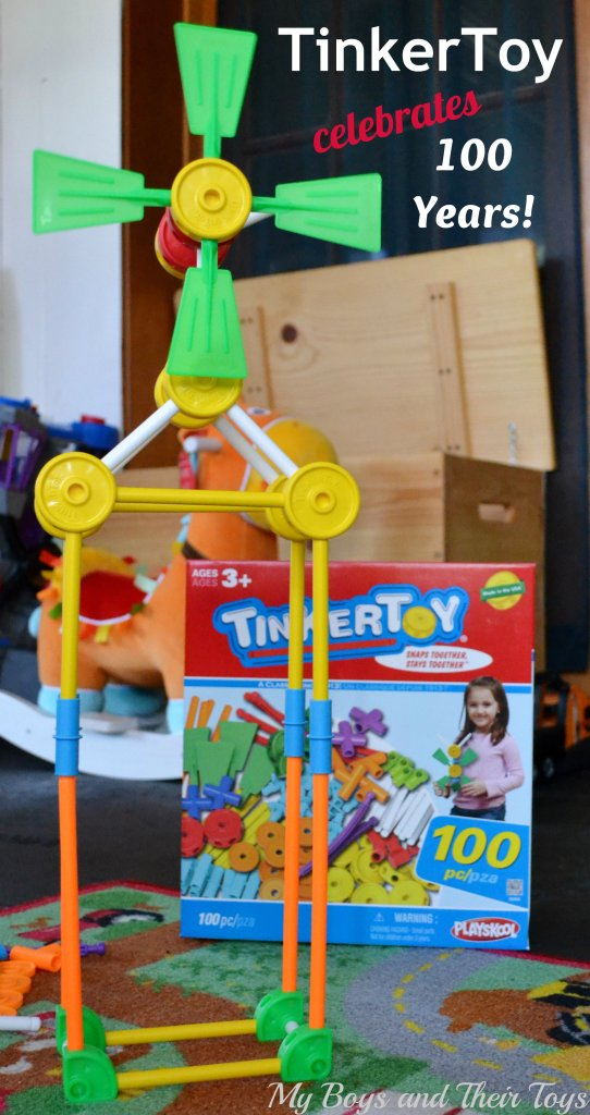 Tinker Toys For Boys : Tinkertoy celebrates years with a piece toy set