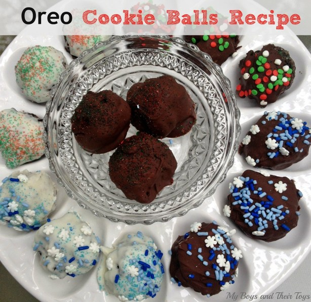 holiday oreo balls