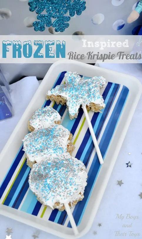 rice krispie treats #FrozenFun #shop