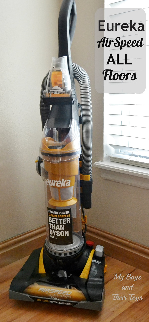 Eureka Airspeed All Floors Vacuum Review Giveaway