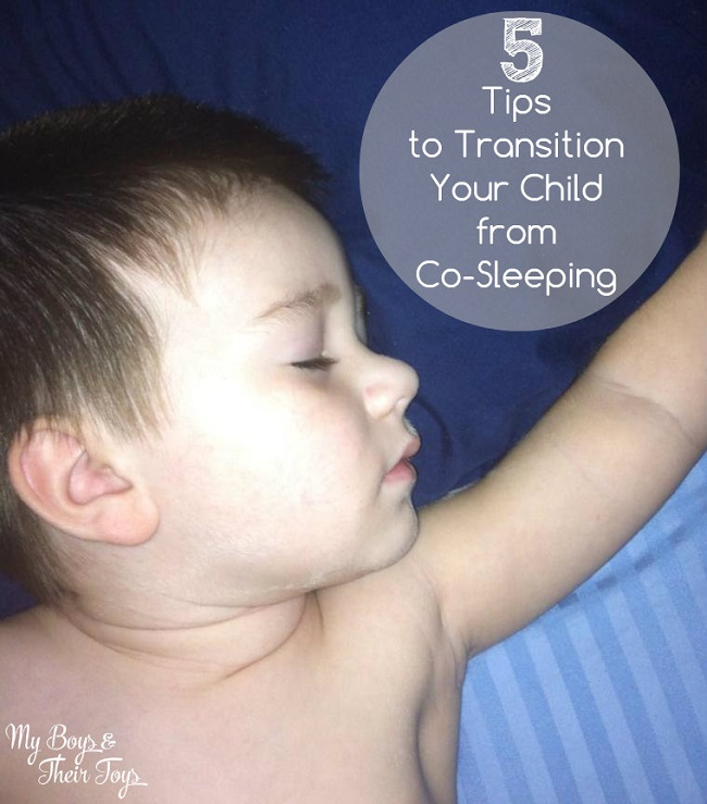 transition your child from co-sleeping