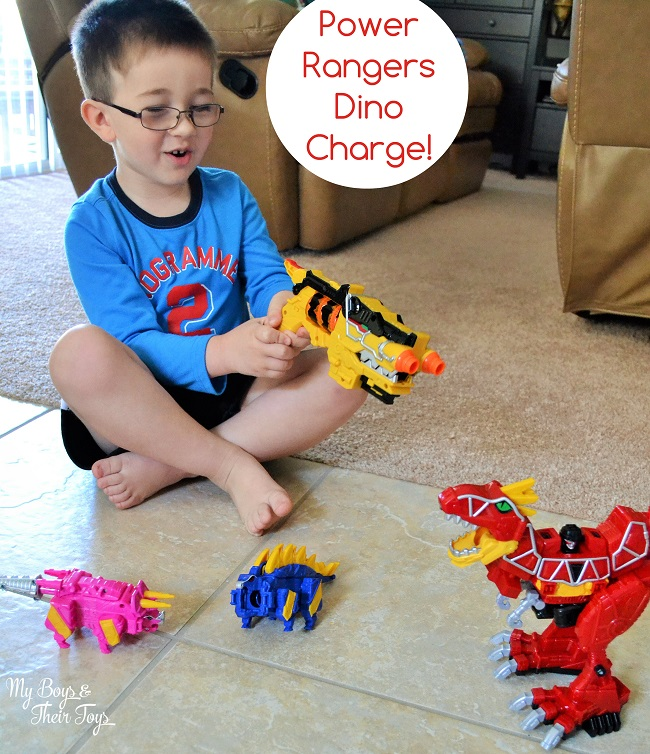 Boys And Their Toys : Power rangers dino charge toys my boys and their