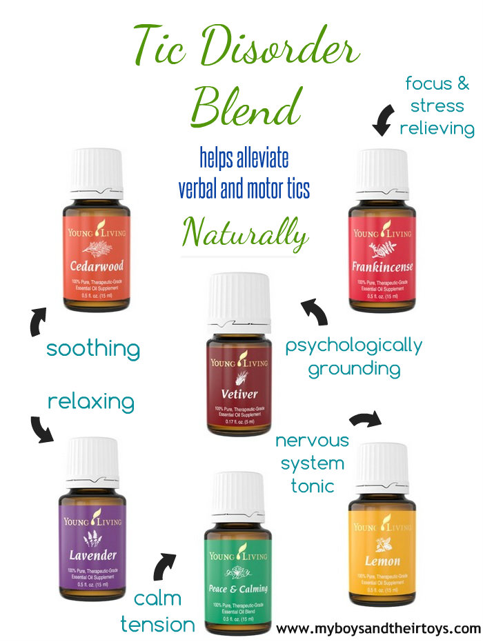tic disorder essential oils