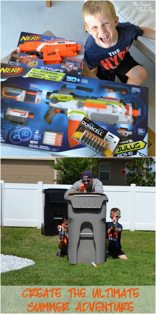 nerf toys backyard battlefield