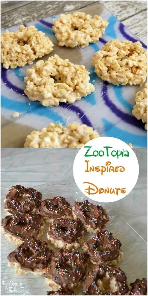 zootopia donuts