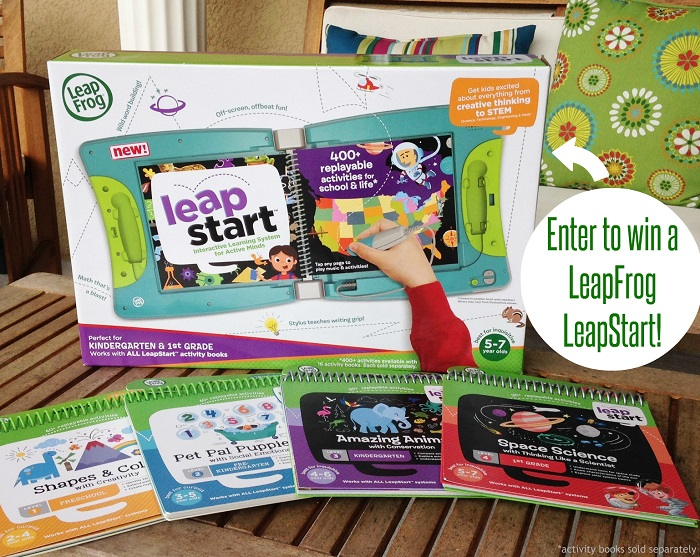 LeapStart and books
