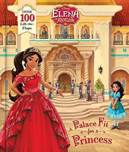elena disney book