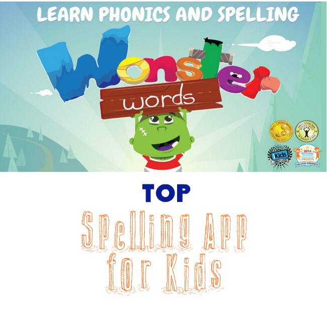 Best Spelling App for Kids: Wonster Words - My Boys and Their Toys