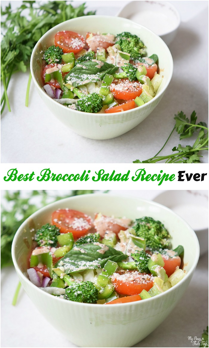 Best Broccoli Salad Recipe Ever