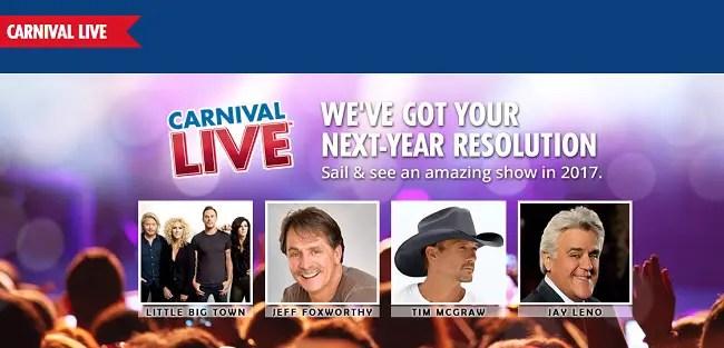 carnival live entertainment