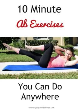 10 minute ab exercises