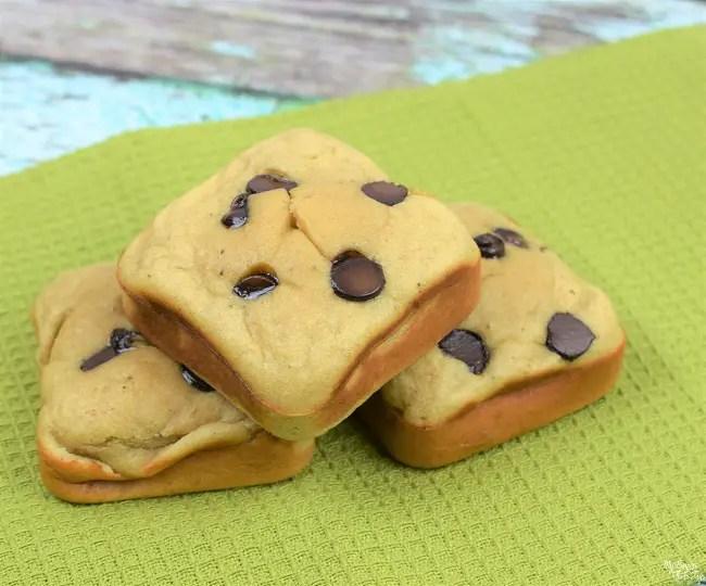 Banana chocolate chip protein muffins