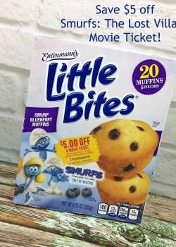 Entenmann's Little Bites + Smurfs: The Lost Village