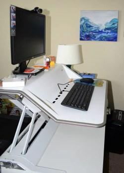 Fellowes Lotus computer workstation desk