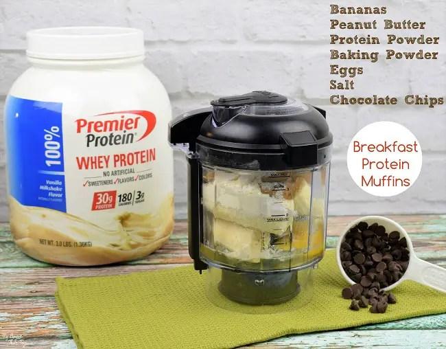 protein muffins ingredients