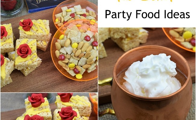 Beauty and the Beast Food Ideas for a Party or Movie Night