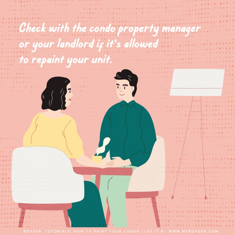 Boysen Tutorials: How to Paint Your Condo | Start off on the right foot.