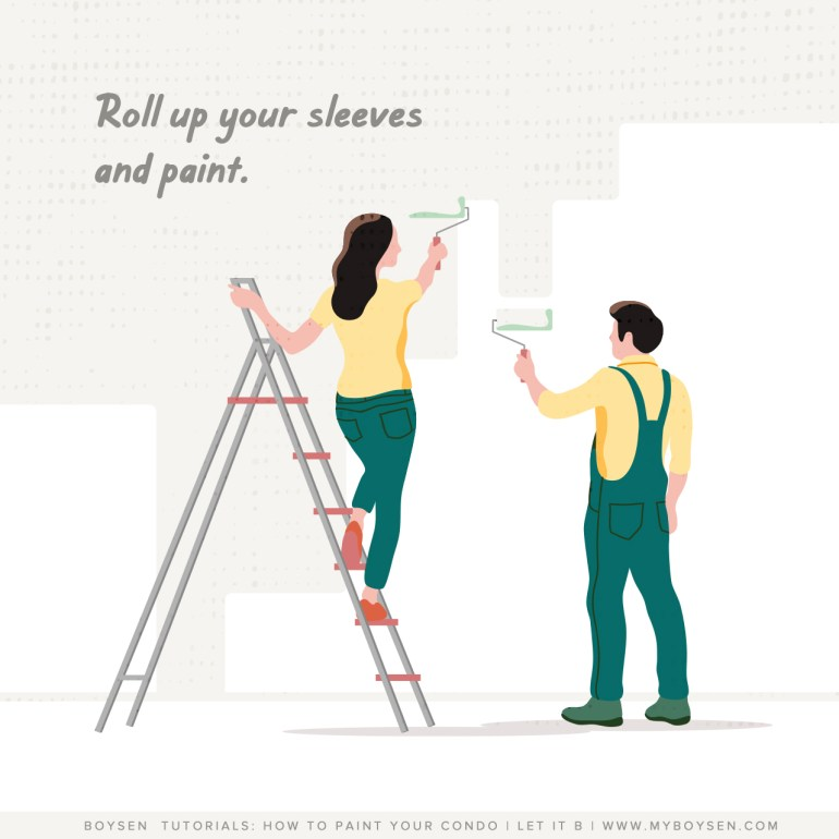 Boysen Tutorials: How to Paint Your Condo | Get ready to roll!