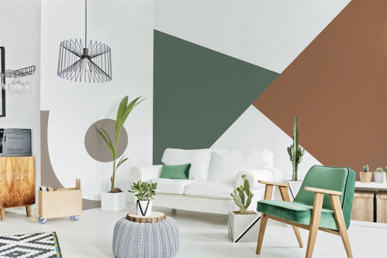 DIY Wall Design: Color Blocking with Boysen Paint | MyBoysen