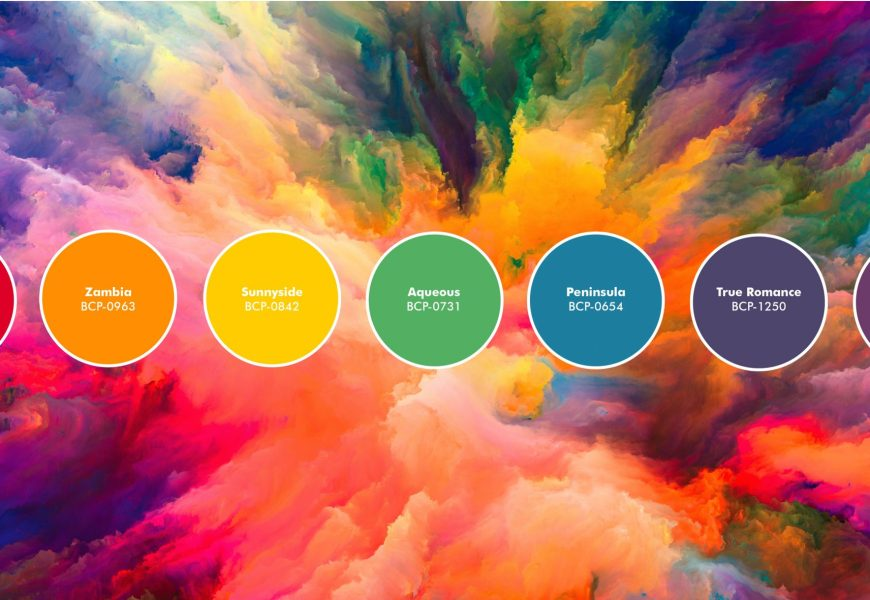 Paint Rainbow Colors On Your Walls With These Three Palettes
