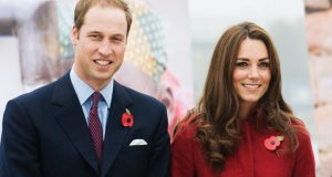 Prince William with Kate Middleton