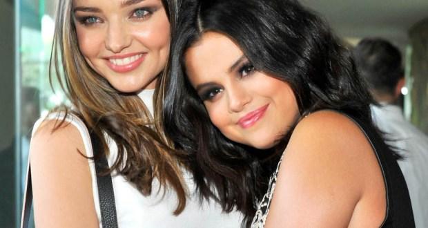 Miranda Kerr & Selena Gomez